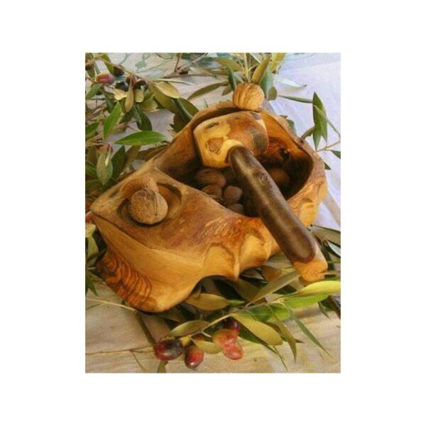 Casse noix artisanal avec marteau