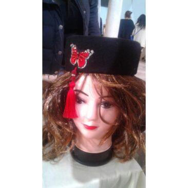 chéchia tunisienne pour femme