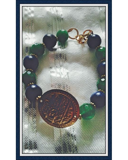 Bracelet mahboub doré