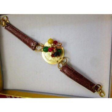 Bracelet au poignet cuir revisité