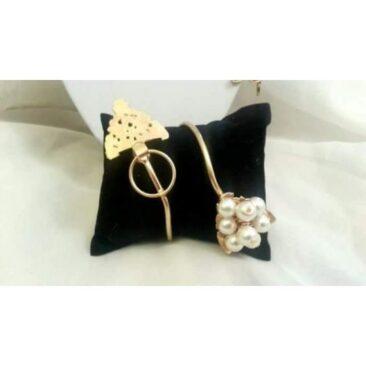 Bracelet en cuivre et perles