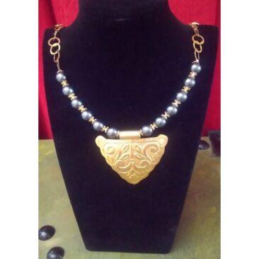 Collier rayhana avec perles