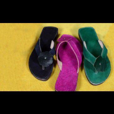 sandale en cuir de Tunisie