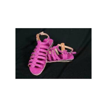 Sandales en cuir pour femme