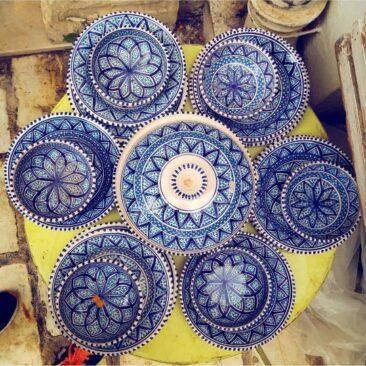 service à table poterie Nabeul