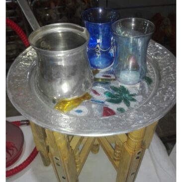 Table artisanal tunisien