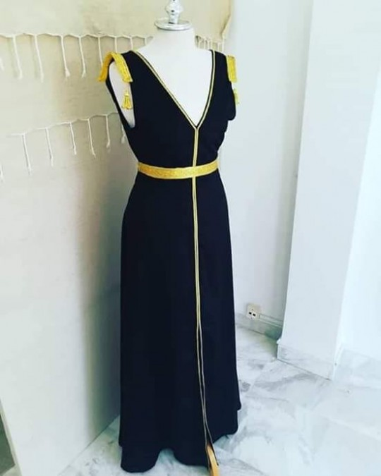 Robe chic style traditionnelle