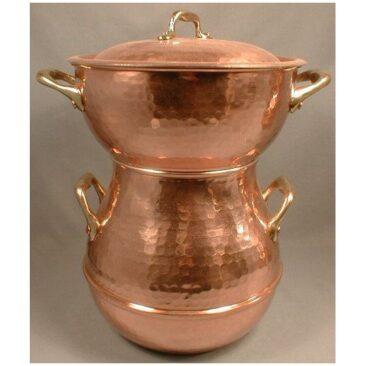 Marmite à vapeur (Couscoussier)