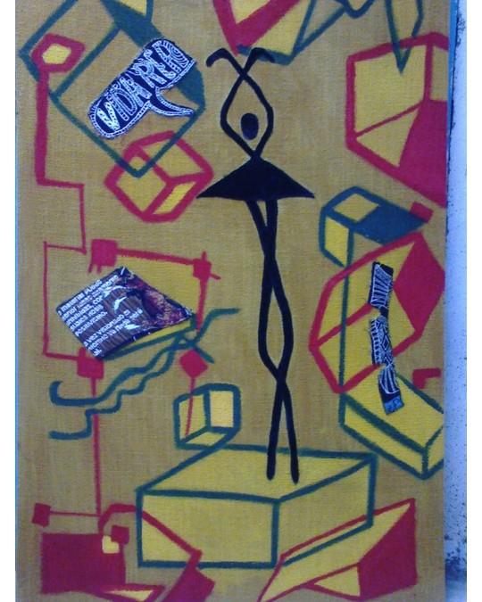 La danseuse sur les cube