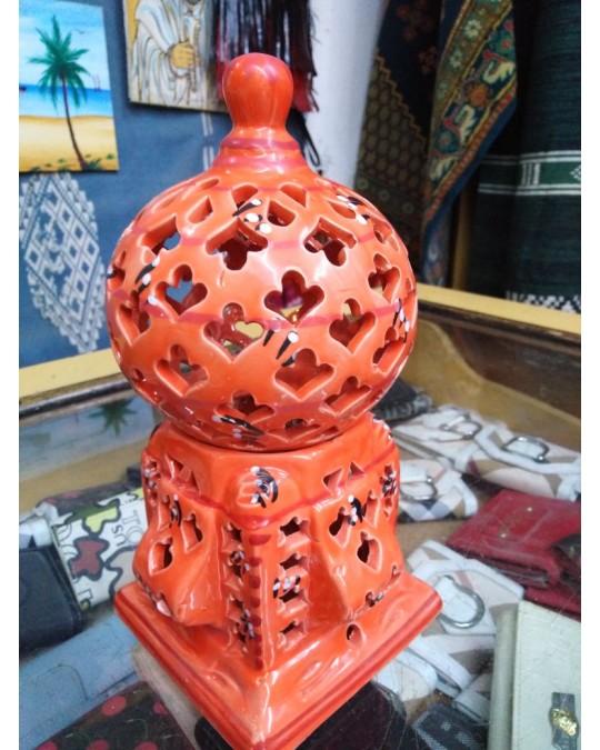 Lampe poterie Djerba