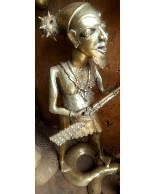 Statue en bronze(Cameroun)