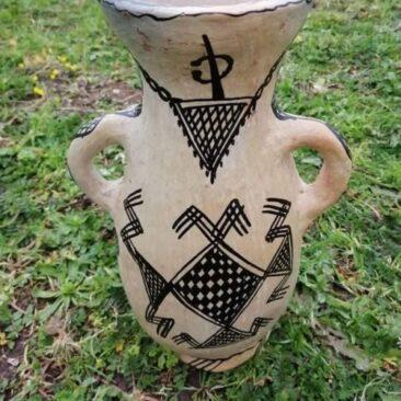 Vase poterie sejnane ou cruche