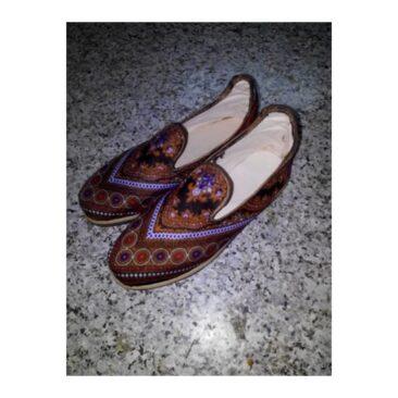 Chaussures en cuir de mouton