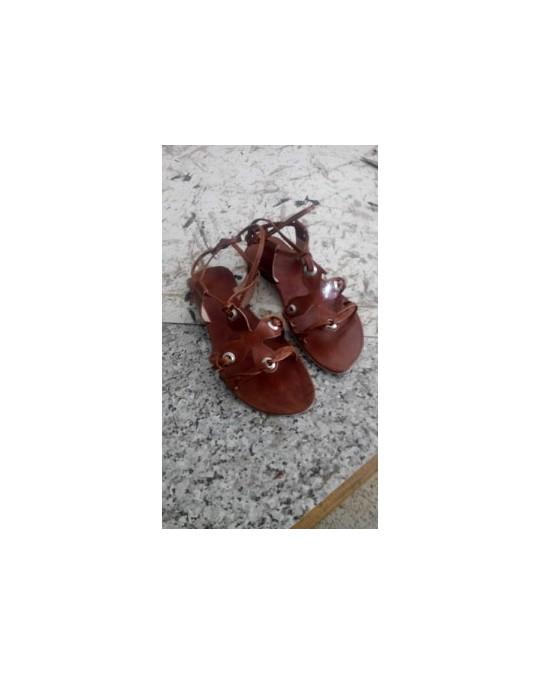 Sandale cuir pour femme