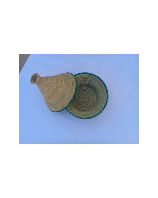 Corbeille en fibre halfa