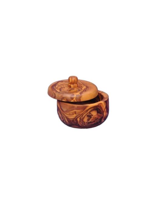 Pot à épices en bois d'olive