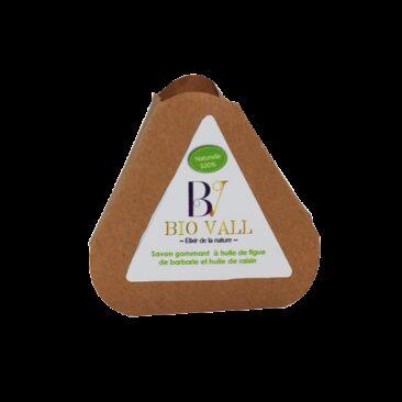 Savon gommant à l'huile de figue de barbarie et huile de raisin