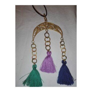 Collier en fil corde